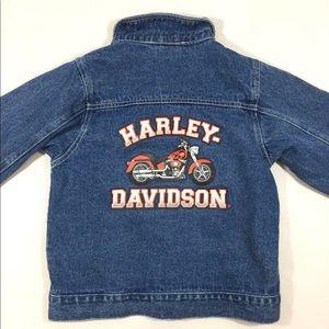 Harley Davidson Kids Jean Jacket